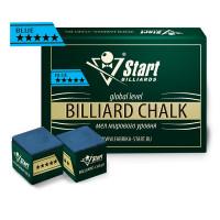 Мел Startbilliards 5 звезд синий (12 шт. качества 8А)