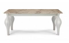 Стол с каменной столешницей Фиоре прямоугольный