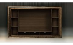 Модуль для книг и TV с полкой. Багет Тоскана