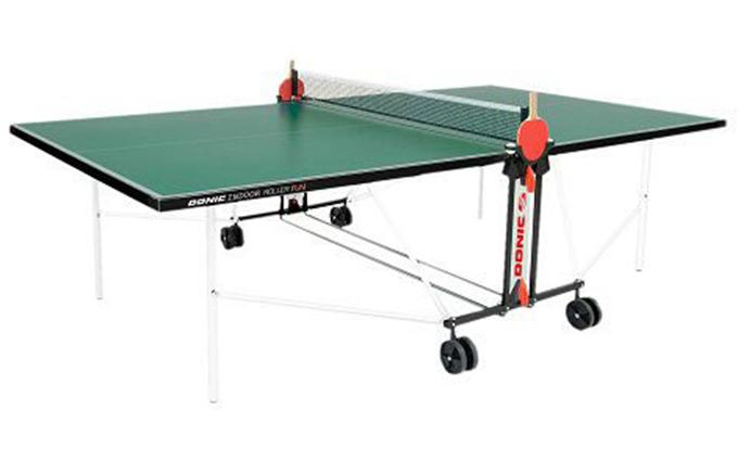 Теннисный стол Donic Outdoor Roller FUN зеленый уцененный