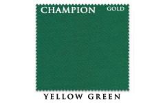Сукно Champion Gold 195см Yellow Green