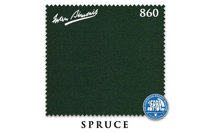 Сукно Iwan Simonis 860 198см Spruce