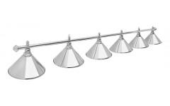Светильник Prestige Silver 6 плафонов