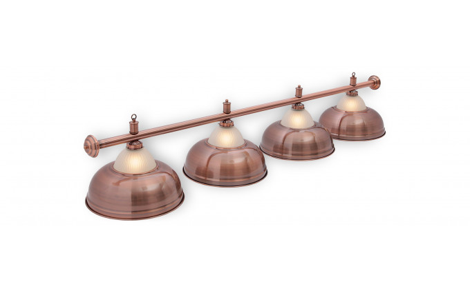 Светильник Crown Red Bronze 4 плафона