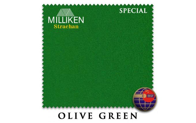 Сукно Milliken Strachan Snooker Special 191см Olive Green