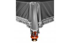Покрывало Венеция 12фт шёлк серебро