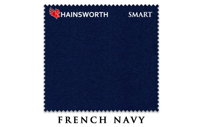 Сукно Hainsworth Smart Snooker 195см French Navy