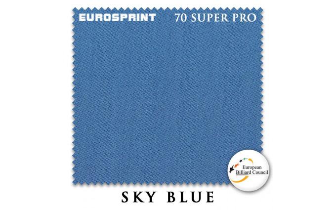 Сукно Eurosprint 70 Super Pro 198см Sky Blue