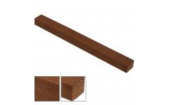 Брусок Граб коричневый 40x40x850-1000мм