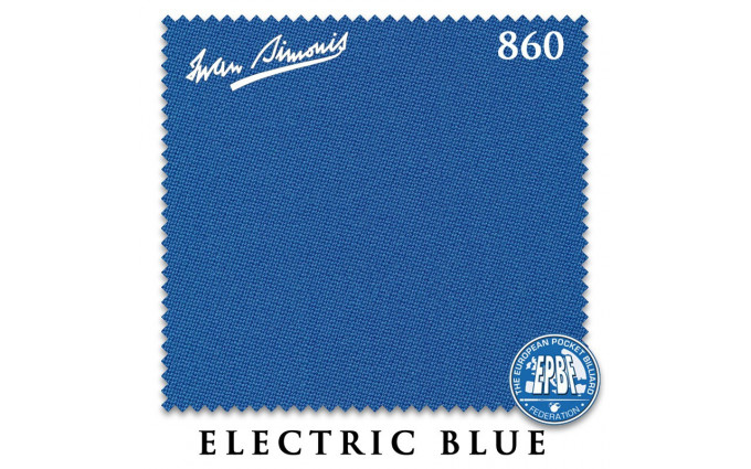 Сукно Iwan Simonis 860 198см Electric Blue