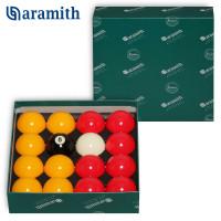 Шары Aramith Casino Red & Yellow 8Pool ø50,8мм биток ø47,6мм