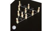 Бильярдный стол Fortuna Русская Пирамида 4фт 9 в 1 с комплектом аксессуаров