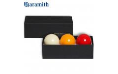 Шары Super Aramith Crystalate Snooker ø52,4мм 3шара