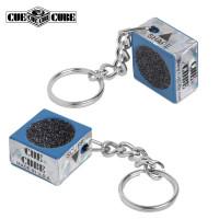Брелок-инструмент для обработки наклейки Cue Cube синий
