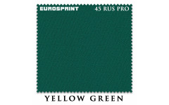 Сукно Eurosprint 45 Rus Pro 198см Yellow Green