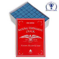 Мел National Tournament Chalk Blue 144шт.