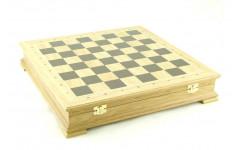 Шахматный ларец Стаунтон Дуб, 40мм