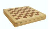 Шахматный ларец Woodgames Бук, 40мм