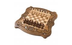 Шахматы + нарды резные 50