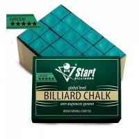 Мел Startbilliards 5 звезд зеленый (72шт)