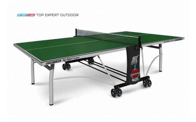 Теннисный стол Top Expert Outdoor green