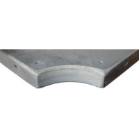 Плита «Premium-Quality Rasson» 11 ф (38 мм, 5-pc) пирамида / снукер