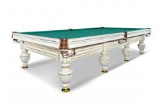Бильярдный стол для русского бильярда «Неаполь» (белый)