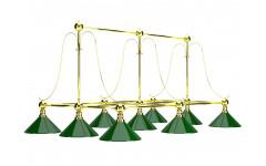 Лампа на девять плафонов